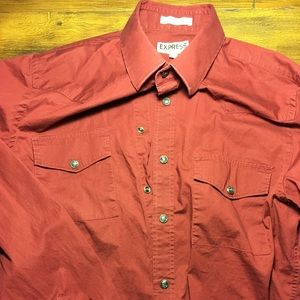Lot of 4 Small EXPRESS shirts & 1 Structure Shirt